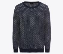 Pullover 'dean' dunkelblau