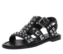 Sandale 'Kito' schwarz / silber