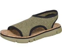 Oruga Sandalen grünmeliert