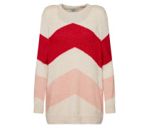 Pullover 'kimmie' creme / rot