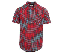 Kurzarmhemd 'pop Check Shirt'