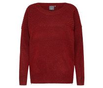 Pullover 'hubble LS' rot