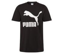 Shirt 'Classics Logo Tee' schwarz / weiß
