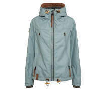 Jacke 'Rocked To The Core' pastellblau