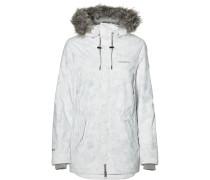 Jacke 'Pw Hybrid' grau / weiß