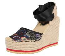 Sandale 'clarye' mischfarben / schwarz
