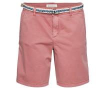 Shorts 'Woven' altrosa