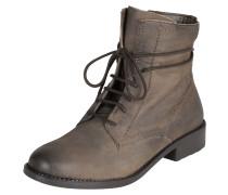 Stiefel mit Schnürung braun