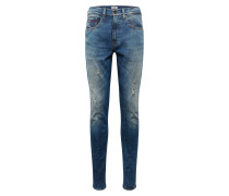 Jeans 'slim Sscanton' blue denim