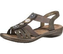 Sandalen brokat / taupe