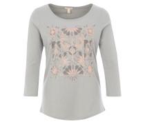 Shirt grau / hellgrau / rosa