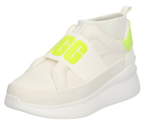Sneaker 'neutra Neon' neongelb / grau / weiß