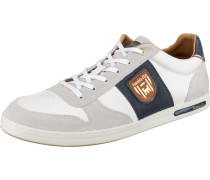 Milito Uomo Low Sneakers Low weiß