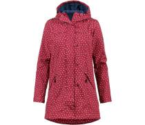 Mantel mischfarben / rot