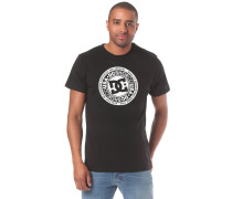 Circle Star T-Shirt schwarz