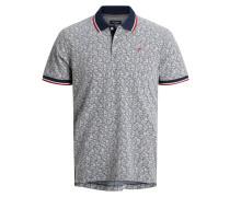 Poloshirt navy / rot / blau / weiß