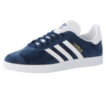 Sneaker 'Gazelle' navy / weiß