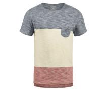 T-Shirt 'Johannes' blau