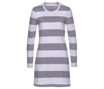 Nachthemd graumeliert / lilameliert