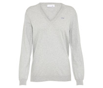 Sportlicher Pullover grau
