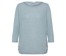 Shirt grün / offwhite