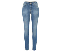 Skinny Jeans 'five Delly' blau