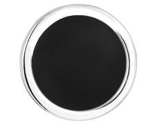 Ohrring schwarz / silber
