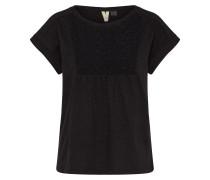 T-Shirt 'clouddiscover' anthrazit / schwarz