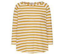 Longsleeve gelb / weiß