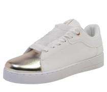 Sneaker 'Ola Metallic Cap' weiß