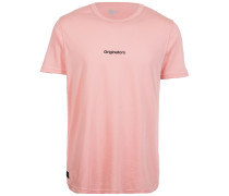 T-Shirt 'Originators Mini Script' pink