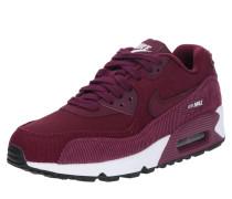 Sneaker 'Air Max 90 Lea' weinrot