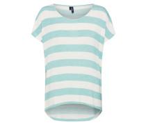 Shirt mint / weiß