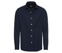 Hemd 'Bristum shirt l/s' dunkelblau