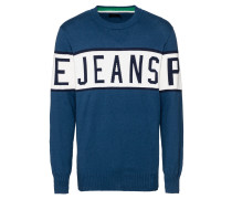 Pullover 'downing' blau