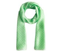 Schal hellgrün / weiß