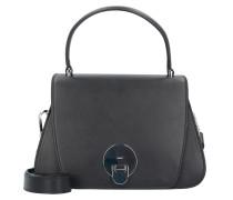 Mustang Handtasche Leder 27 cm schwarz