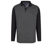 Polo-Shirt grau / schwarz