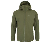 Outdoorjacke 'Lakeside' oliv