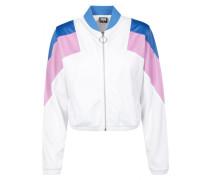 Jacke blau / pink / weiß