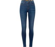 Jeans 'superthermo' blue denim