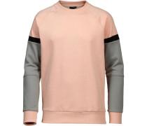 Sweatshirt grau / altrosa