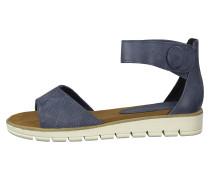 Klassische Sandalen blau