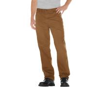 Jeans 'Duck' braun