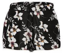 Shorts 'LW M & M Beach' schwarz / weiß