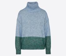 Pullover 'marla' hellblau / grün