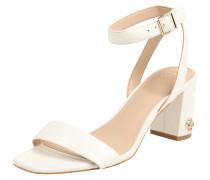 Sandalette 'annabel' weiß