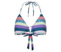 Bikinitop 'triangle TOP Aop' mischfarben