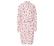 Kleid 'Mosa Genni' rot / weiß