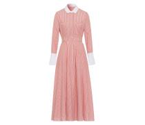 Kleid Shirt Dress Koralle koralle / weiß